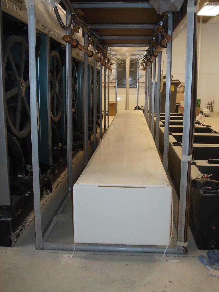 Top Drain Installation H M Company Drain Troughs