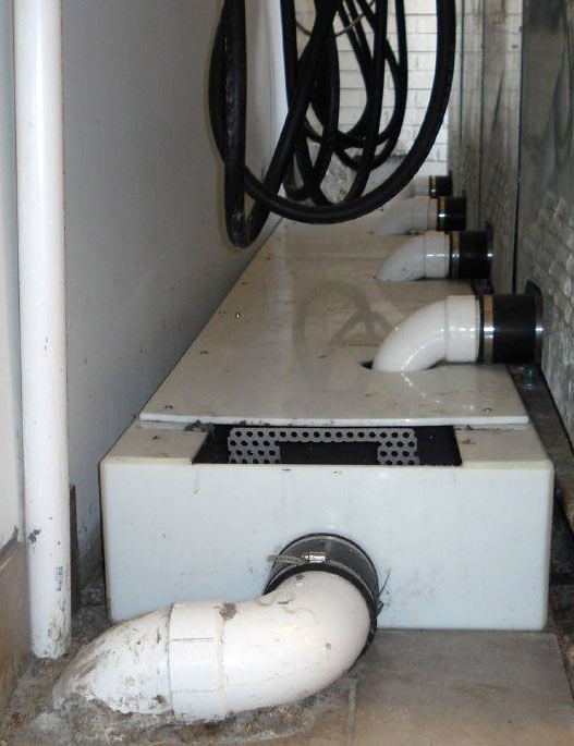 Drain Outlet Options H M Company Drain Troughs