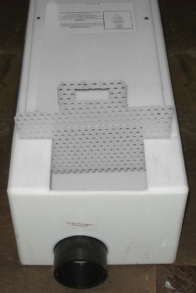 Lint Screen Configurations H M Company Drain Troughs