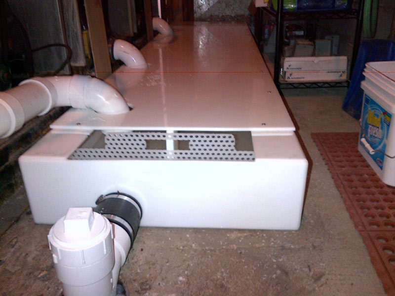Drain Troughs For Coin Laundries H M Company Drain Troughs