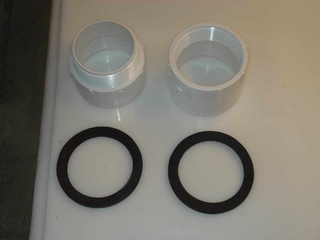 Parts Of A Side Inlet Fitting Kit