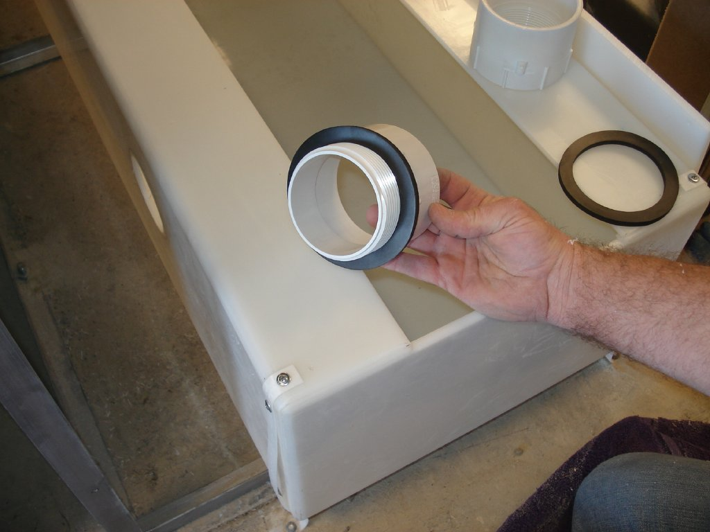 Holding A Side Inlet Fitting Kit